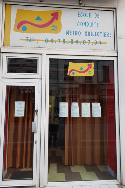 L'auto-école Metro Guillotière